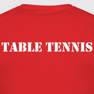 Table Tennis Shirt - Men's T-Shirt