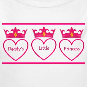 Daddy's Little Princess - Long Sleeve Baby Bodysuit