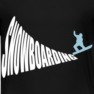 Snowboarding 2c Baby & Toddler Shirts - Toddler Premium T-Shirt