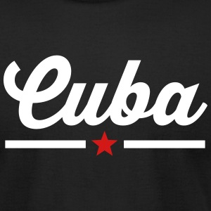 CUBA STAR LINE T-Shirts - Men's T-Shirt by American Apparel