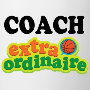 Basketball Coach Extraordinaire Accessories - Contrast Coffee Mug