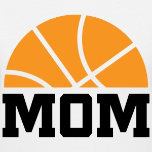 Basketball Mom Women's T-Shirts - Women's V-Neck T-Shirt