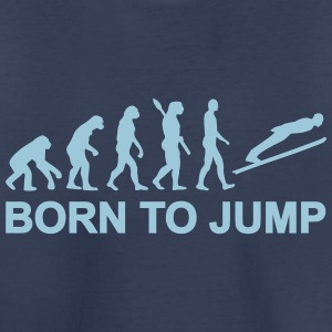 Evolution Ski-jumping Kids' Shirts - Kids' Premium T-Shirt