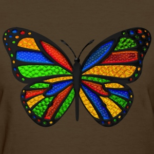 Stained Glass Butterfly Women's T-Shirts - Women's T-Shirt