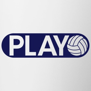 Play Volleyball Accessories - Contrast Coffee Mug