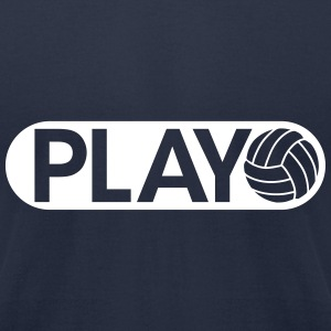 Play Volleyball T-Shirts - Men's T-Shirt by American Apparel