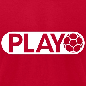 Play Handball T-Shirts - Men's T-Shirt by American Apparel