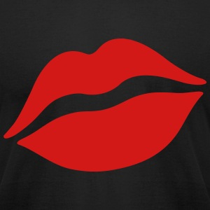 kiss T-Shirts - Men's T-Shirt by American Apparel