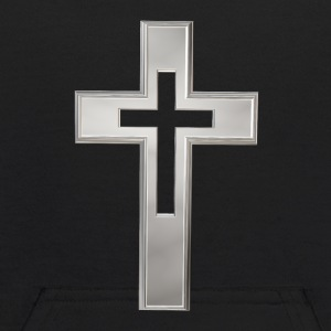 Silver Christian cross Sweatshirts - Kids' Hoodie