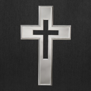 Silver Christian cross Bags & backpacks - Tote Bag
