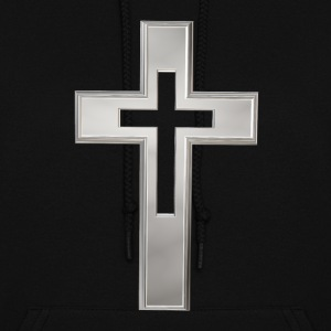 Silver Christian cross Hoodies - Women's Hoodie