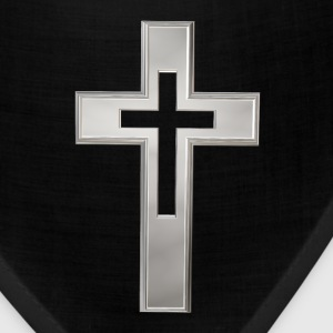 Silver Christian cross Caps - Bandana