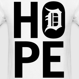 HOPE IN DETROIT1 T-Shirts - Men's T-Shirt