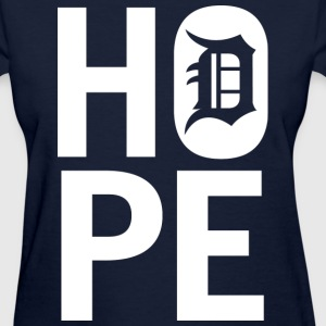 HOPE IN DETROIT Women's T-Shirts - Women's T-Shirt