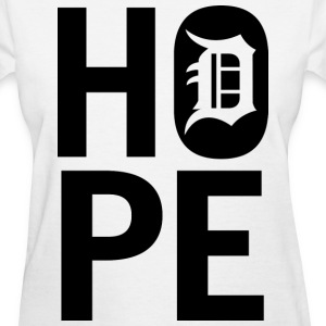 HOPE IN DETROIT1 Women's T-Shirts - Women's T-Shirt