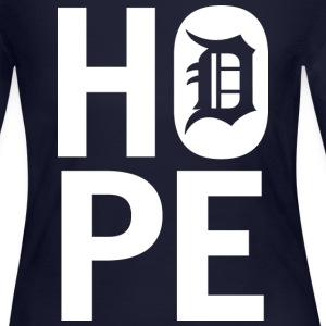 HOPE IN DETROIT Long Sleeve Shirts - Women's Long Sleeve Jersey T-Shirt