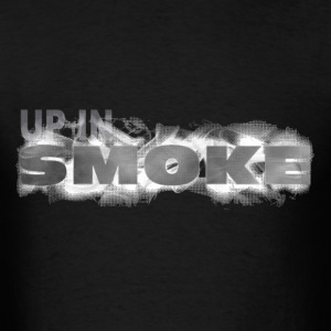 UP IN SMOKE - Men's T-Shirt