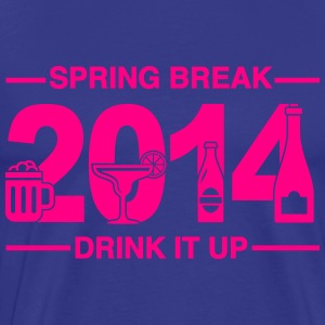 Spring Break '14 - Drink it up. T-Shirts - Men's Premium T-Shirt