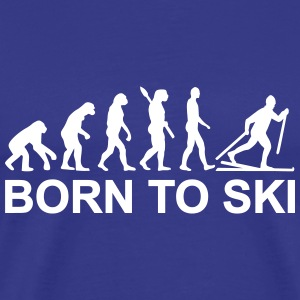 Evolution Cross-country skiing T-Shirts - Men's Premium T-Shirt