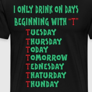 drink days - Men's Premium T-Shirt