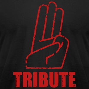 Tribute T-Shirts - Men's T-Shirt by American Apparel