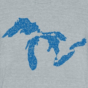 The Great Lakes T-Shirts - Unisex Tri-Blend T-Shirt