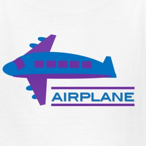 Airplane Design for Boys - Kids' T-Shirt