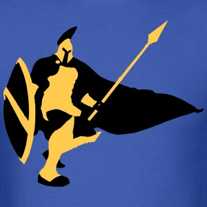 Pantheon/Spartan Silhouette [LoL] T-Shirts - Men's T-Shirt