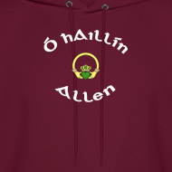 Design ~ Allen Family Claddagh Sweat for Men and Women