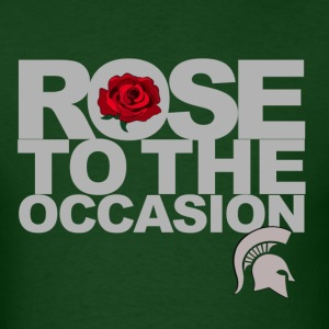 Spartans Rose Silver.png T-Shirts - Men's T-Shirt
