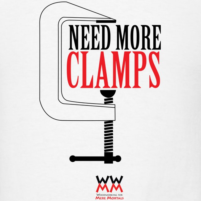 Need more clamps.