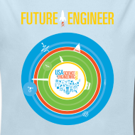Design ~ Baby Future Engineer Long Sleeve    (Front Design Only)