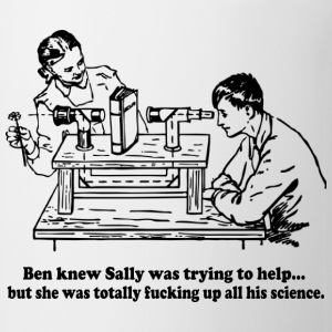 Sally Can't Fucking Science Bottles & Mugs - Coffee/Tea Mug