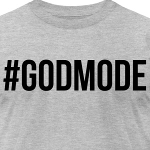 #GODMODE - Men's T-Shirt by American Apparel