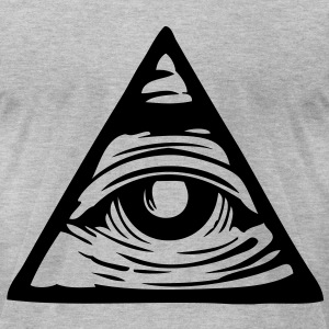 All Seeing Eye - Men's T-Shirt by American Apparel