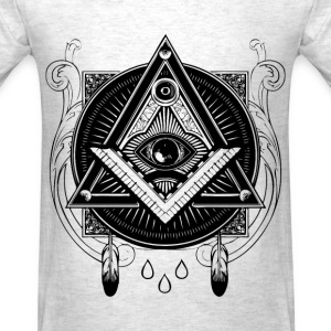 All Seeing Eye Illustration - Men's T-Shirt
