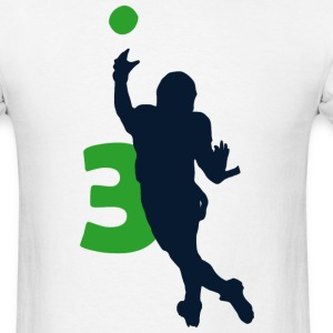 Russell Wilson SUPERSTAR Shirt #3 - Men's T-Shirt