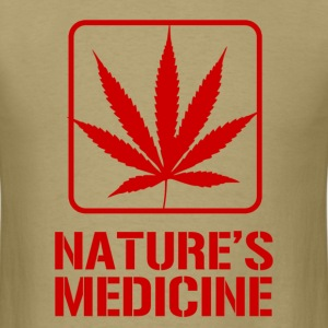 natures_medicine T-Shirts - Men's T-Shirt
