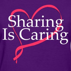 sharing_is_caring Women's T-Shirts