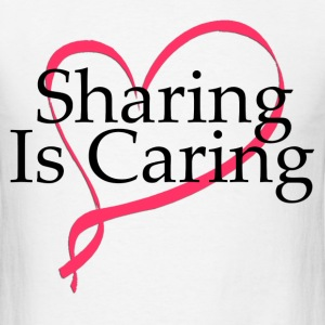 sharing_is_caring T-Shirts - Men's T-Shirt