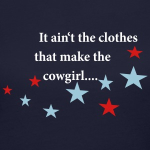Cowgirls Quotes Long Sleeve Shirts - Women's Long Sleeve Jersey T-Shirt