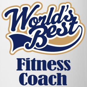 Fitness Coach (Worlds Best) Bottles & Mugs - Coffee/Tea Mug