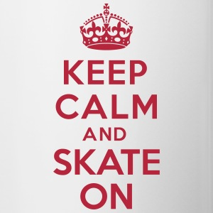 Keep calm and skate on Accessories - Contrast Coffee Mug