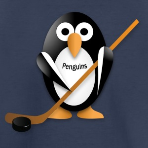 Penguin with a hockey stick Baby & Toddler Shirts - Toddler Premium T-Shirt