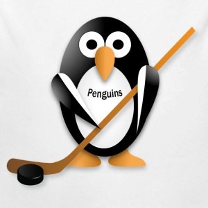 Penguin with a hockey stick Baby & Toddler Shirts - Long Sleeve Baby Bodysuit
