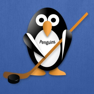 Penguin with a hockey stick Bags & backpacks - Tote Bag