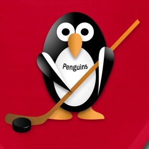 Penguin with a hockey stick Caps - Bandana