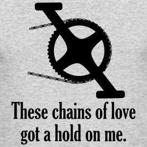 Chains of love - Men's Long Sleeve T-Shirt by Next Level