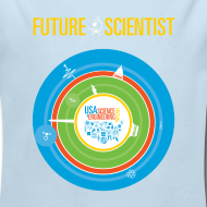 Design ~ Baby Future Scientist Long Sleeve  (Front Design Only)