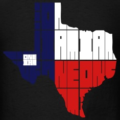 ONE IAM BLOCK - TEXAS T-Shirts